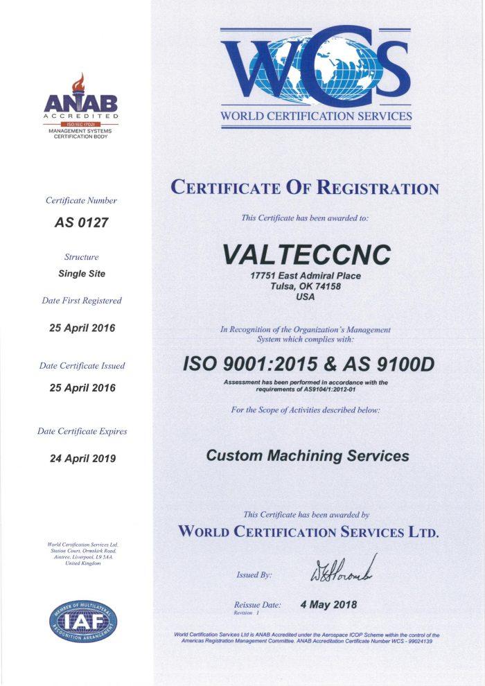 Quality Valteccnc